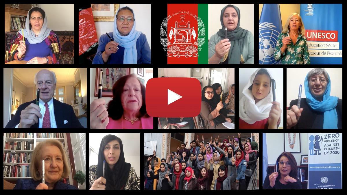 Mobilization video #RaiseAPen